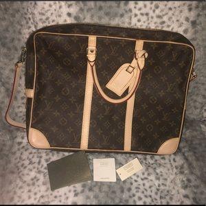 Vintage Louis Vuitton porte-documents voyage